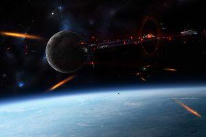 space art war space spaceship