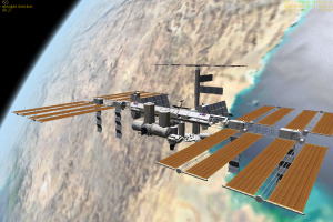 space cgi international space station space station render