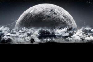 space planet digital art