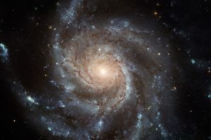 space planet space art spiral galaxy digital art galaxy universe