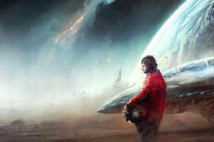 space spaceship artwork