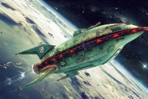 spaceship futurama planet express