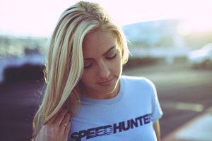 speedhunters blonde women