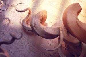 spiral razer wood