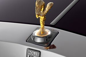 spirit of ecstasy car rolls-royce phantom