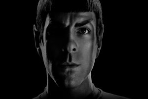spock zachary quinto face men movies star trek