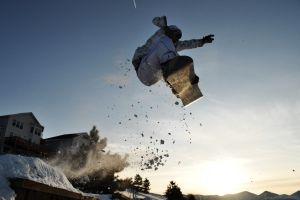 sport  snowboarding winter men sports