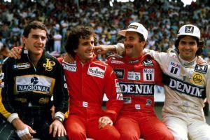 sports ayrton senna formula 1 legend