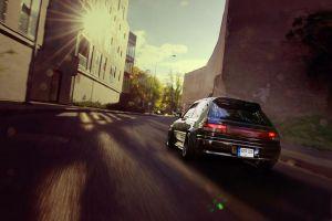 sports car japanese cars car dutch tilt old car mazda evening