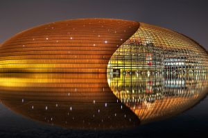 stadium china lights architecture
