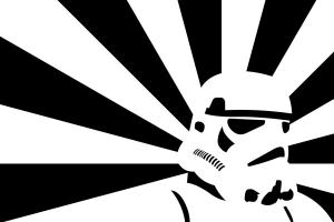 star wars helmet artwork stormtrooper minimalism
