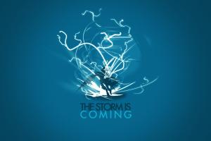 starcraft digital art minimalism blue background video games protoss