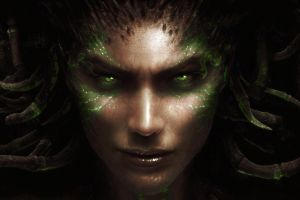 starcraft sarah kerrigan video games queen of blades starcraft ii