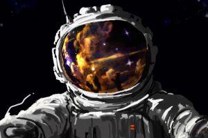 stars artwork digital art space fantasy art painting concept art astronaut spacesuit