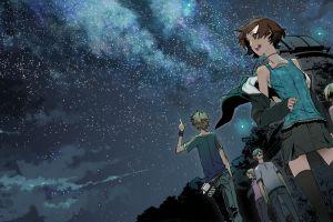 stars supercell space anime sky anime boys album covers anime girls zettai ryouiki