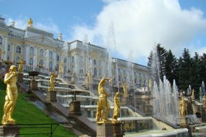 statue architecture russia fountain