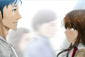 steins;gate anime girls anime anime boys okabe rintarou makise kurisu