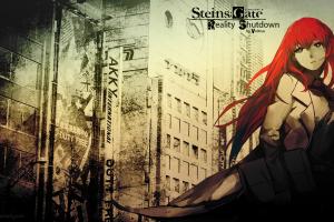 steins;gate redhead makise kurisu anime girls anime