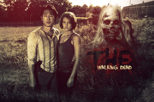 steven yeun the walking dead lauren cohan