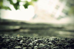 stones depth of field nature