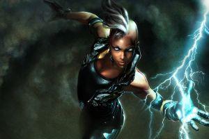 storm (character) fantasy art superheroines marvel comics x-men