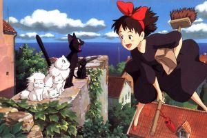 studio ghibli anime anime girls kiki's delivery service