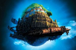 studio ghibli anime castle in the sky