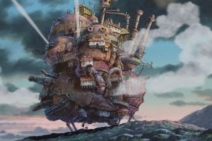 studio ghibli anime howl's moving castle
