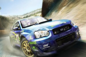 subaru impreza  blue cars rally cars car
