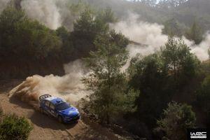subaru rally cars dust