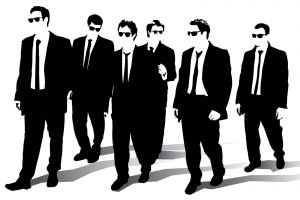 suits quentin tarantino reservoir dogs silhouette reservoir dogs movies sunglasses