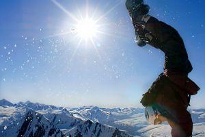 sun snow snowboarding