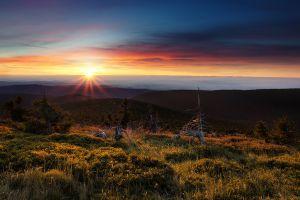 sunlight landscape czech republic nature