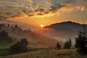 sunlight landscape nature sky