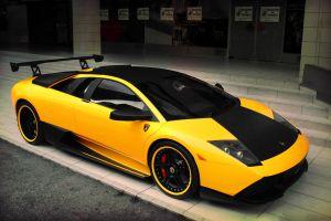 supercars vehicle car yellow cars lamborghini lamborghini murcielago