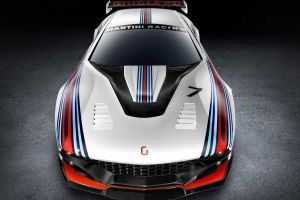 supercars vehicle italdesign brivido martini racing car