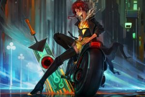 supergiant games video games transistor