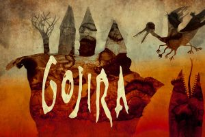 surreal gojira artwork