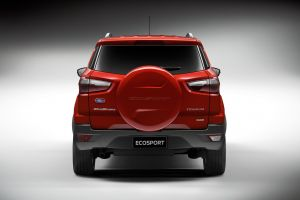 suv car red cars ford ford ecosport