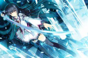 sword anime girls fantasy art anime koiken otome