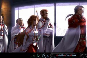 sword art online anime girls kayaba akihiko anime yuuki asuna video games