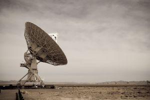 technology antenna radio telescope landscape