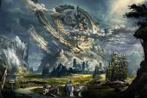 tera fantasy art video games