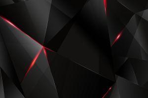 texture digital art geometry black dark