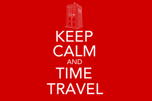 the doctor artwork doctor who time travel red keep calm and... tardis