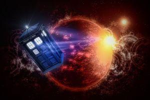 the doctor artwork tardis doctor who