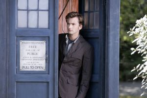 the doctor tardis david tennant doctor who tenth doctor