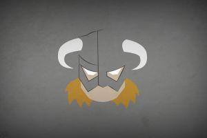 the elder scrolls v: skyrim dovakhiin hero the elder scrolls blo0p helmet minimalism