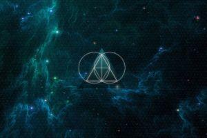 the glitch mob sacred geometry geometry nebula triangle anime galaxy