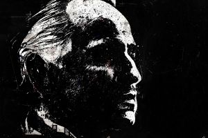 the godfather alex cherry movies paint splatter artwork marlon brando